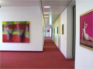 "9-Tage-Galerie – 9-Tage-Galerie - ""Art meets architecture nine-day-gallery a guest at KAI 13, Düsseldorf, 2003"
